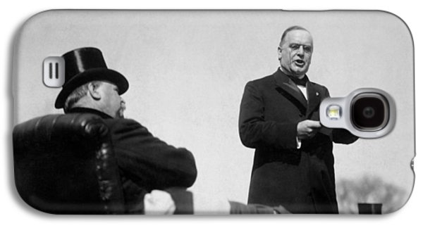 William Mckinley Making His Inaugural Address Galaxy S4 Case
