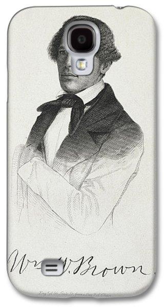 William W. Brown Galaxy S4 Case by British Library