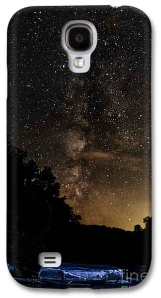 Williams River Milky Way Galaxy S4 Case by Thomas R Fletcher