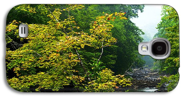 Williams River Summer Fall Color Galaxy S4 Case by Thomas R Fletcher