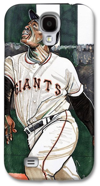 Willie Mays Galaxy S4 Case