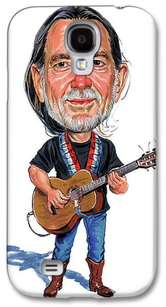 Willie Nelson Galaxy S4 Case by Art