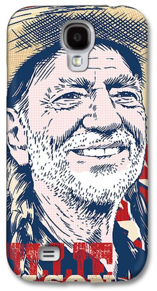 Willie Nelson Pop Art Galaxy S4 Case by Jim Zahniser