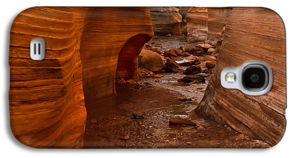 Willis Creek Slot Canyon Galaxy S4 Case by Robert Bales