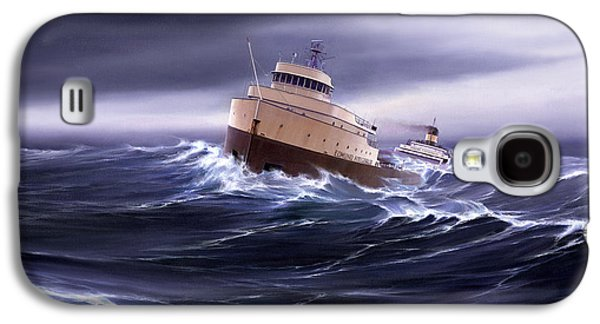 Wind And Sea Astern Galaxy S4 Case by Captain Bud Robinson