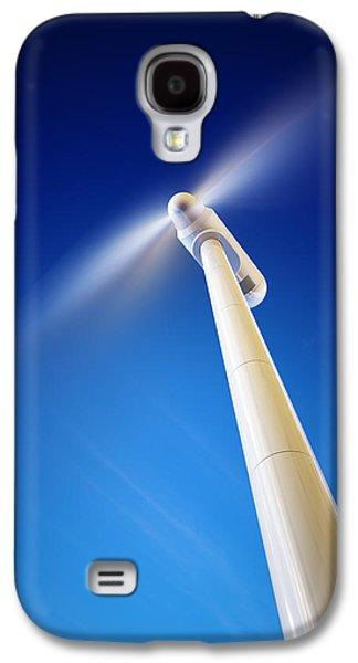 Wind Turbine From Below Galaxy S4 Case by Johan Swanepoel
