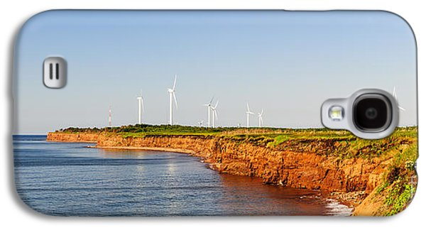 Wind Turbines On Atlantic Coast Galaxy S4 Case