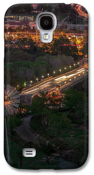 Windmill Over Niblick Bridge Galaxy S4 Case