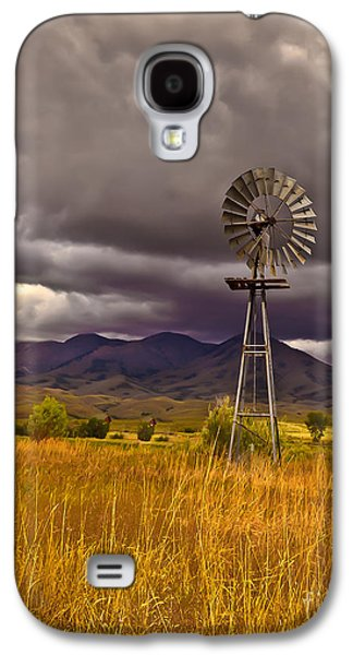 Windmill Galaxy S4 Case by Robert Bales