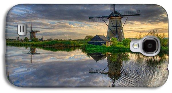 Duck Galaxy S4 Case - Windmills by Chad Dutson