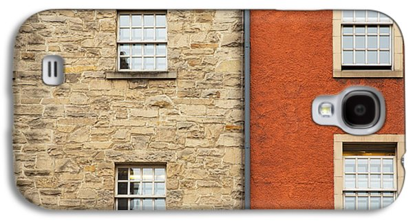 Window Detail Edinburgh Galaxy S4 Case by Jane Rix