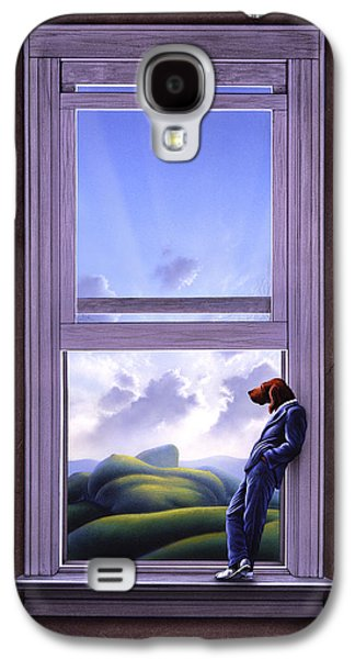 Surrealism Galaxy S4 Case - Window Of Dreams by Jerry LoFaro