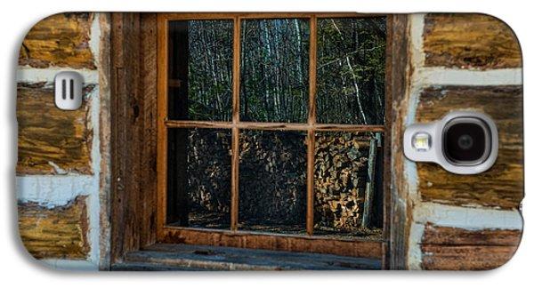 Window Reflection Galaxy S4 Case by Paul Freidlund