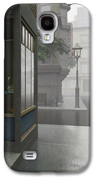 Window Shopping Galaxy S4 Case by Cynthia Decker