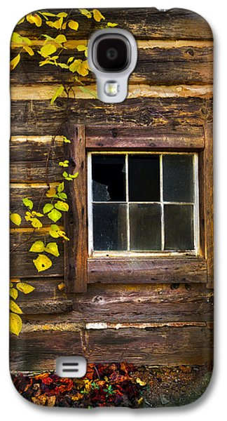 Window To The Soul Galaxy S4 Case by Debra and Dave Vanderlaan