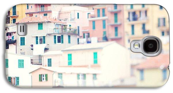 Windows Of Cinque Terre Italy Galaxy S4 Case by Kim Fearheiley