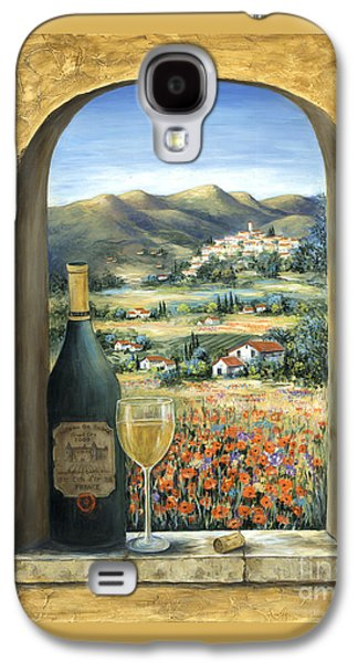 Wine And Poppies Galaxy S4 Case