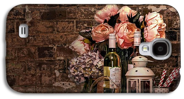 Wine And Roses Galaxy S4 Case by Kaye Menner
