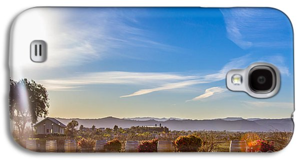 A View For Wine Lovers Galaxy S4 Case by Alanna DPhoto