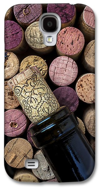 Wine Bottle With Corks Galaxy S4 Case by Garry Gay