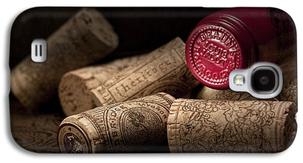 Wine Corks Still Life Iv Galaxy S4 Case by Tom Mc Nemar