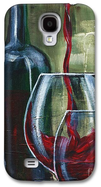 Wine For Two Galaxy S4 Case by Lisa Owen-Lynch