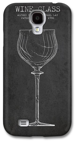 Wine Glass Patent From 1986 - Charcoal Galaxy S4 Case