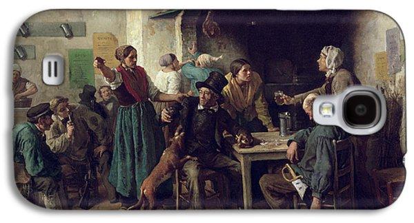 Wine Shop Monday, 1858 Oil On Canvas Galaxy S4 Case