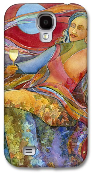 Wine Woman And Song Galaxy S4 Case by Jen Norton