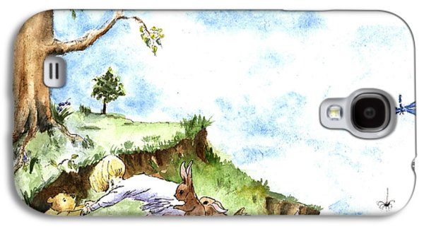Helping Hands After E H Shepard Galaxy S4 Case by Maria Hunt