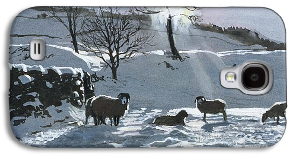 Winter Afternoon At Dentdale Galaxy S4 Case by John Cooke