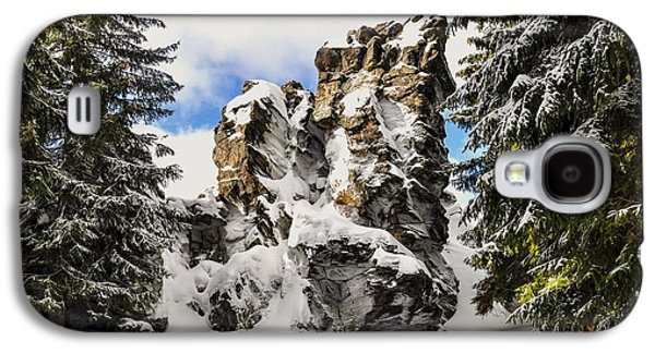 Winter At The Stony Summit Galaxy S4 Case by Aged Pixel