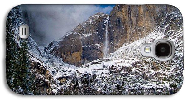 Winter At Yosemite Falls Galaxy S4 Case