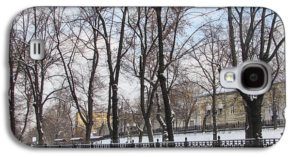 Winter Boulevard Galaxy S4 Case by Anna Yurasovsky