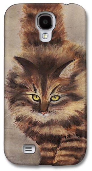 Winter Cat Galaxy S4 Case