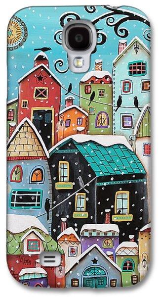 Winter City Galaxy S4 Case by Karla Gerard
