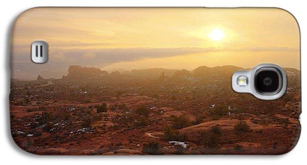 Winter Desert Glow Galaxy S4 Case