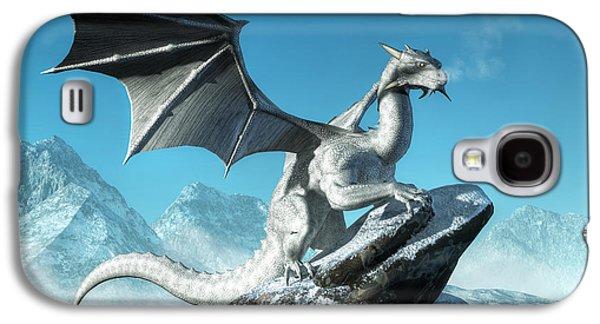Winter Dragon Galaxy S4 Case by Daniel Eskridge
