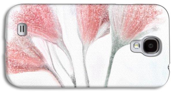 Winter Flowers Galaxy S4 Case