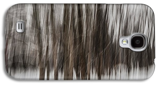 Winter Forest Abstract Galaxy S4 Case