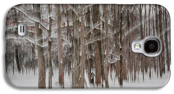 Winter Forest Abstract II Galaxy S4 Case
