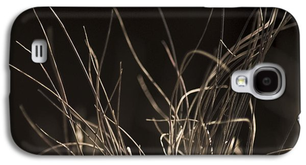 Galaxy S4 Case featuring the photograph Winter Grass 2 by Yulia Kazansky