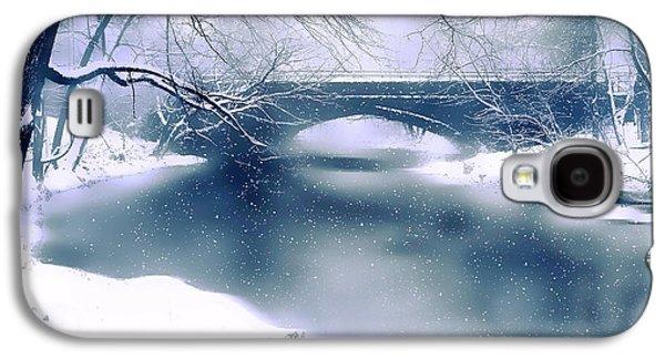 Winter Haiku Galaxy S4 Case by Jessica Jenney
