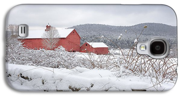 Winter In Connecticut Galaxy S4 Case by Bill Wakeley