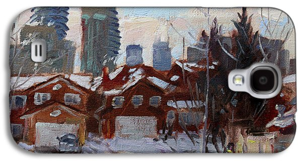 Winter In Mississauga  Galaxy S4 Case