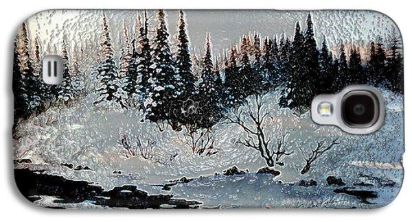 Winter Lake Sunset Galaxy S4 Case
