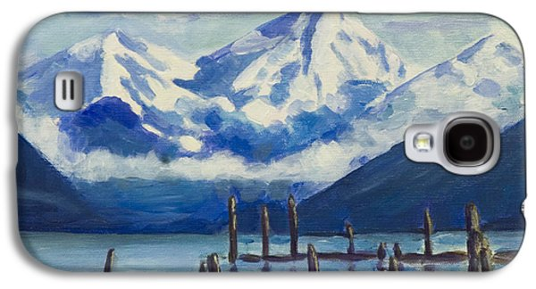 Winter Mountains Alaska Galaxy S4 Case