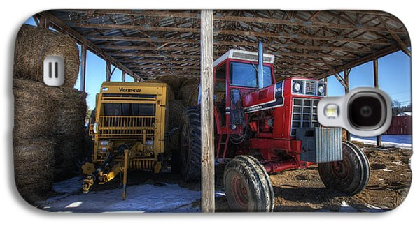 Winter On The Farm Galaxy S4 Case by Eric Gendron
