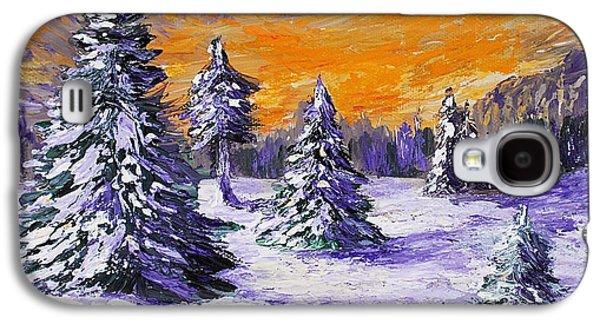 Winter Outlook Galaxy S4 Case by Anastasiya Malakhova