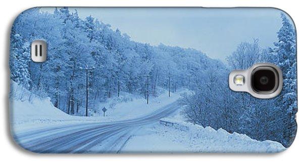 Winter Road Nh Usa Galaxy S4 Case
